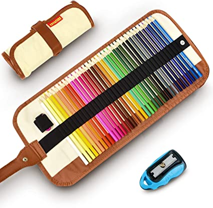 Lápices De Colores Set, 36 Kit De Dibujo De Lápiz De Color Con ...