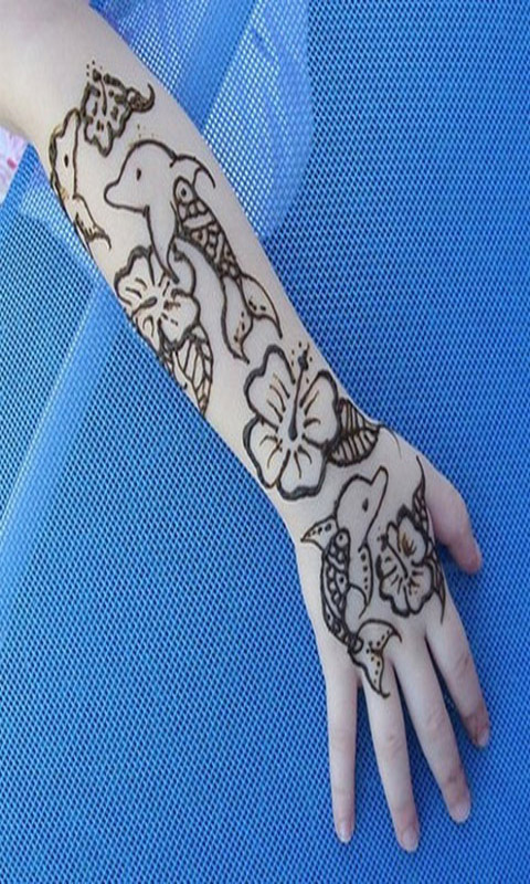 Amazon Com Mehndi Designs For Kids Vol 1 Appstore For Android