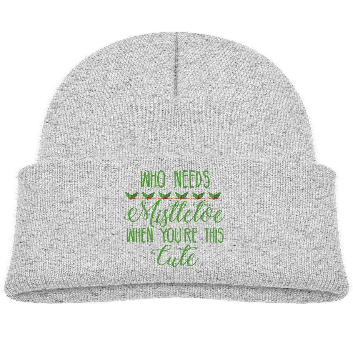Who Needs Mistletoe When Youre This Cute Infant Skull Hat Baby Girl Beanie Cap