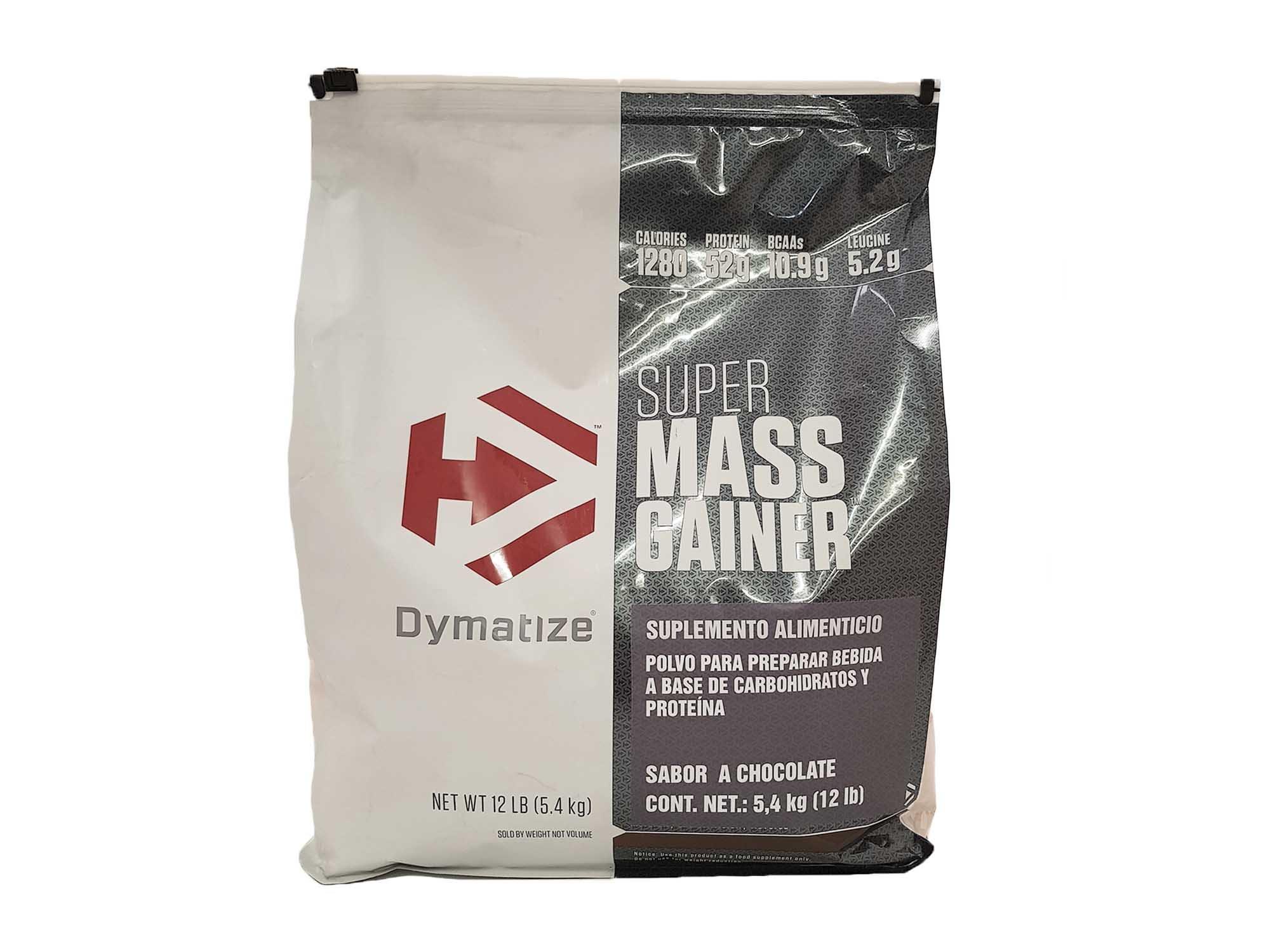 Dymatize Nutrition Super Mega Gainer, Hardcore Chocolate, 12 Pound
