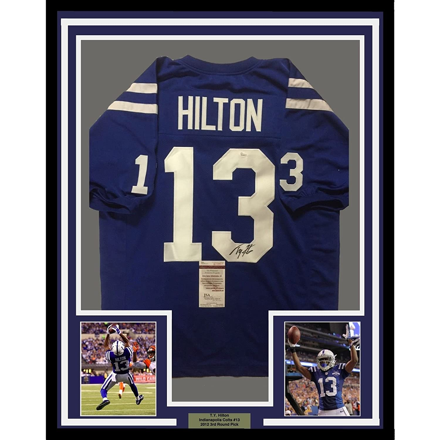 info for 57947 b6c27 13 t.y. hilton jersey frame