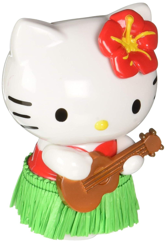 CHROMA 048004 Black/Green Hello Kitty Hula Dancer White/Red Dashboard Auto Ornament