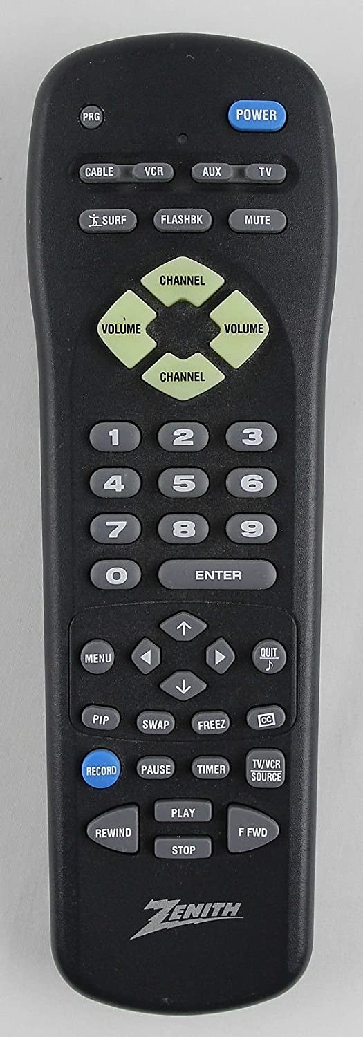 Amazon.com: Durpower HDTV Smart Universal Zenith MBR3457 TV Remote Control Controller For ZENITH MBR3457 (124-00212-37), MBR3455 (124-212-03), RR3457 Zenith ...