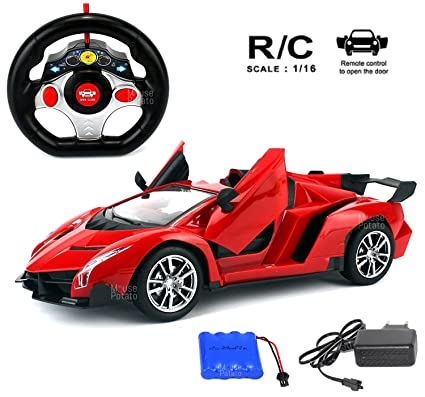 Buy Mousepotato 1 16 Lamborghini Style Sports Racing Car Red Online