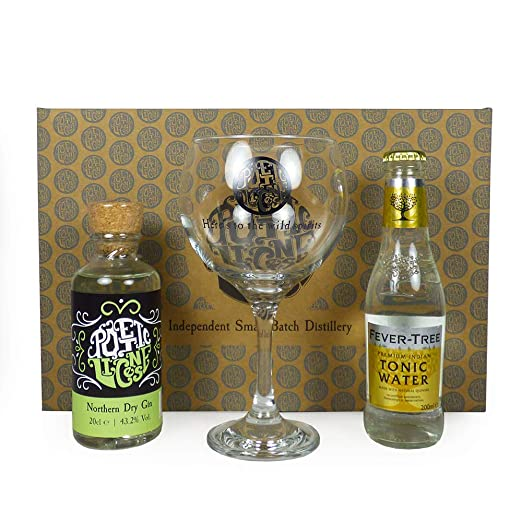 Christmas Alcohol Gift Sets.Poetic License 20cl Northern Dry Gin Tonic Gift Set