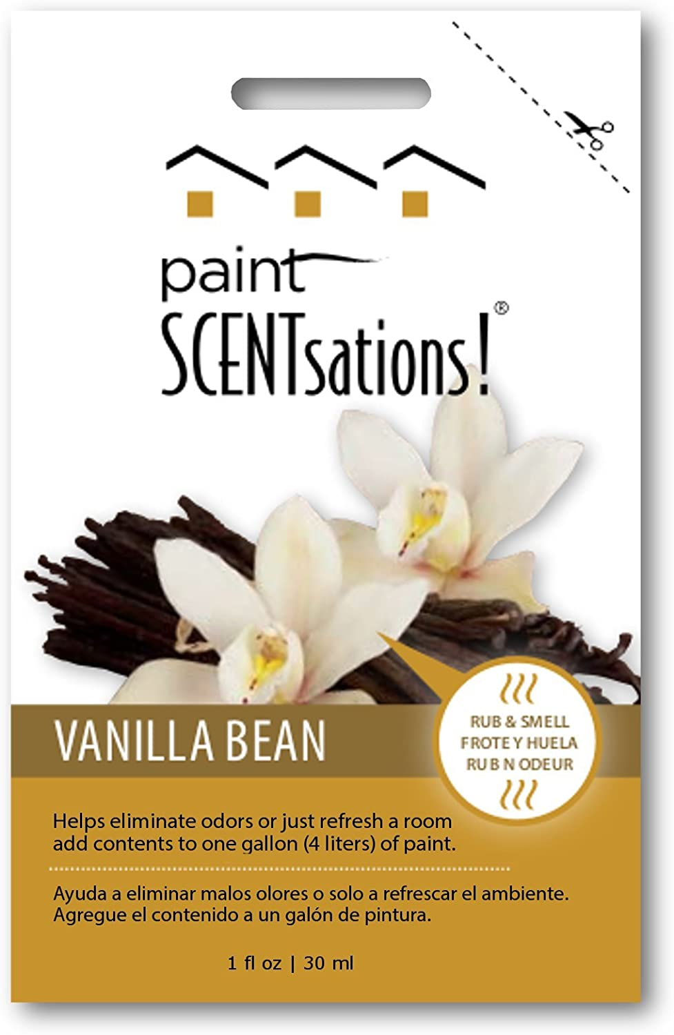 Paint Scentsations 105-01 Vanilla Bean with 1-Ounce Packet