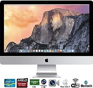 Apple iMac 27in Retina 5K display Intel Core i5 3.5GHz All in One Desktop MF886LL/A - (Renewed)