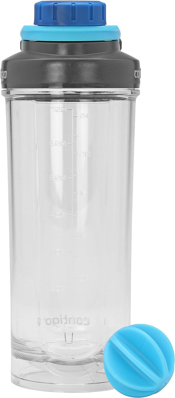Contigo Shake & Go Fit Twist Lid Shaker Bottle, 28 oz, Carolina Blue