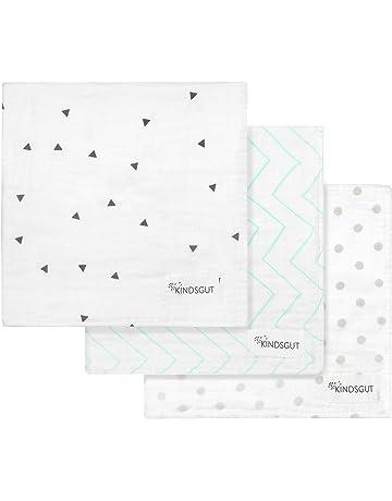 Kindsgut - Pañales de muselina para lactancia, tres ejemplares