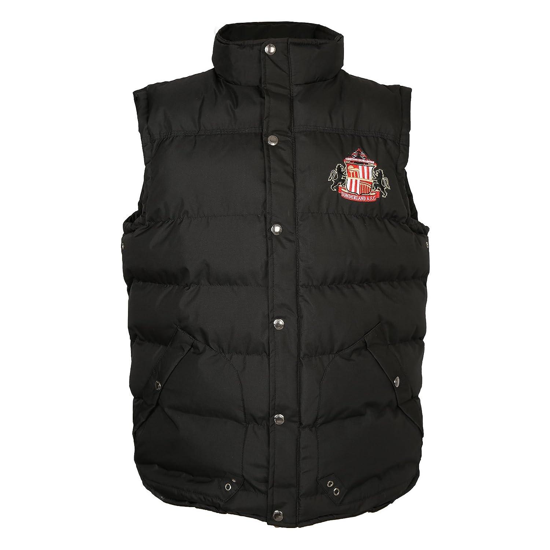Sunderland AFC Official Football Gift Boys Padded Body Warmer Gilet