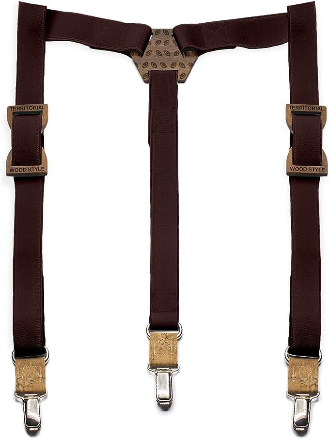 Territorial Tirantes de madera Rugby. Colección de moda hombre ...