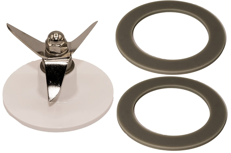 Blendin Replacement SPB-456-2 Blender Blade with 2 Gaskets, Fits Cuisinart SPB-562-3, SPB-7