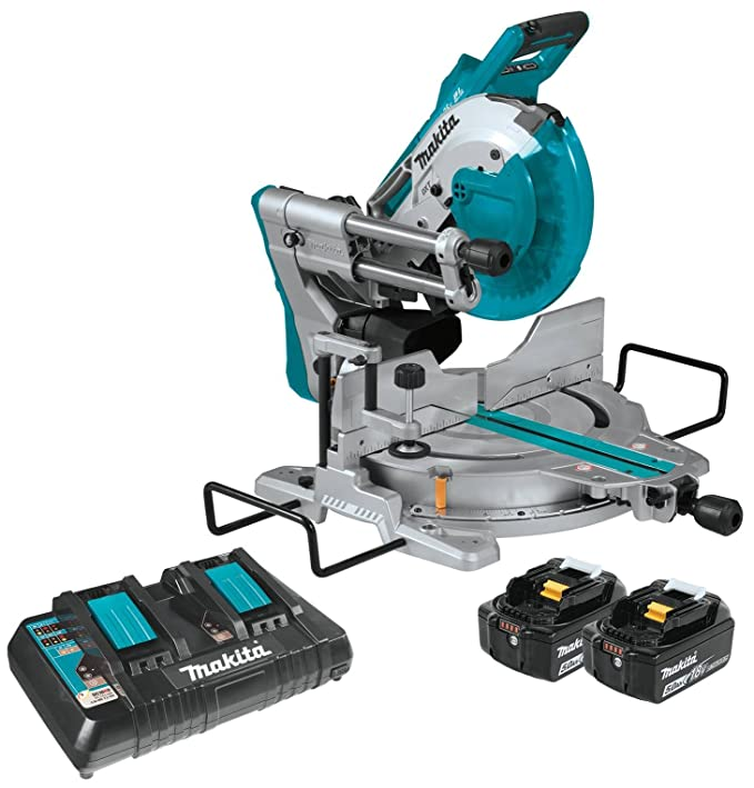 Amazon.com: Makita - Sierra ingletadora de doble bisel: Home ...