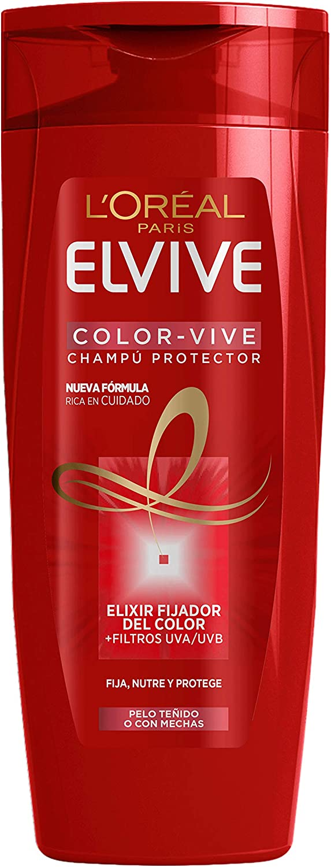 L'Oreal Paris Elvive Color Vive Champú Protector, para el pelo teñido - 285 ml