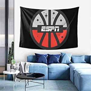 VBNMC ESPN Tapestry Wall Hanging Soft Tapestries Home Decorations for Living Room Bedroom Dorm Decor 60x40in