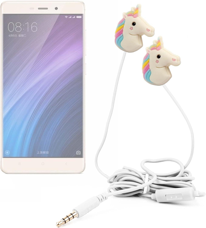 DURAGADGET Auriculares estéreo con diseño de Unicornio Arcoiris para Smartphone Xiaomi 4 Prime, Mi 4s, Mi 5, Mi MAX, Mi Mix, Mi Note 2, Redmi 3, 4, 4a, Note 3 Pro, Note 4: Amazon.es: Electrónica