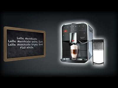 melitta machine caf et boissons chaudes automatique. Black Bedroom Furniture Sets. Home Design Ideas