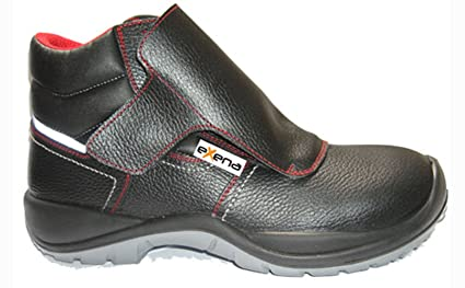 Exena Ibiza - Calzado de protección laboral, talla 43, color negro