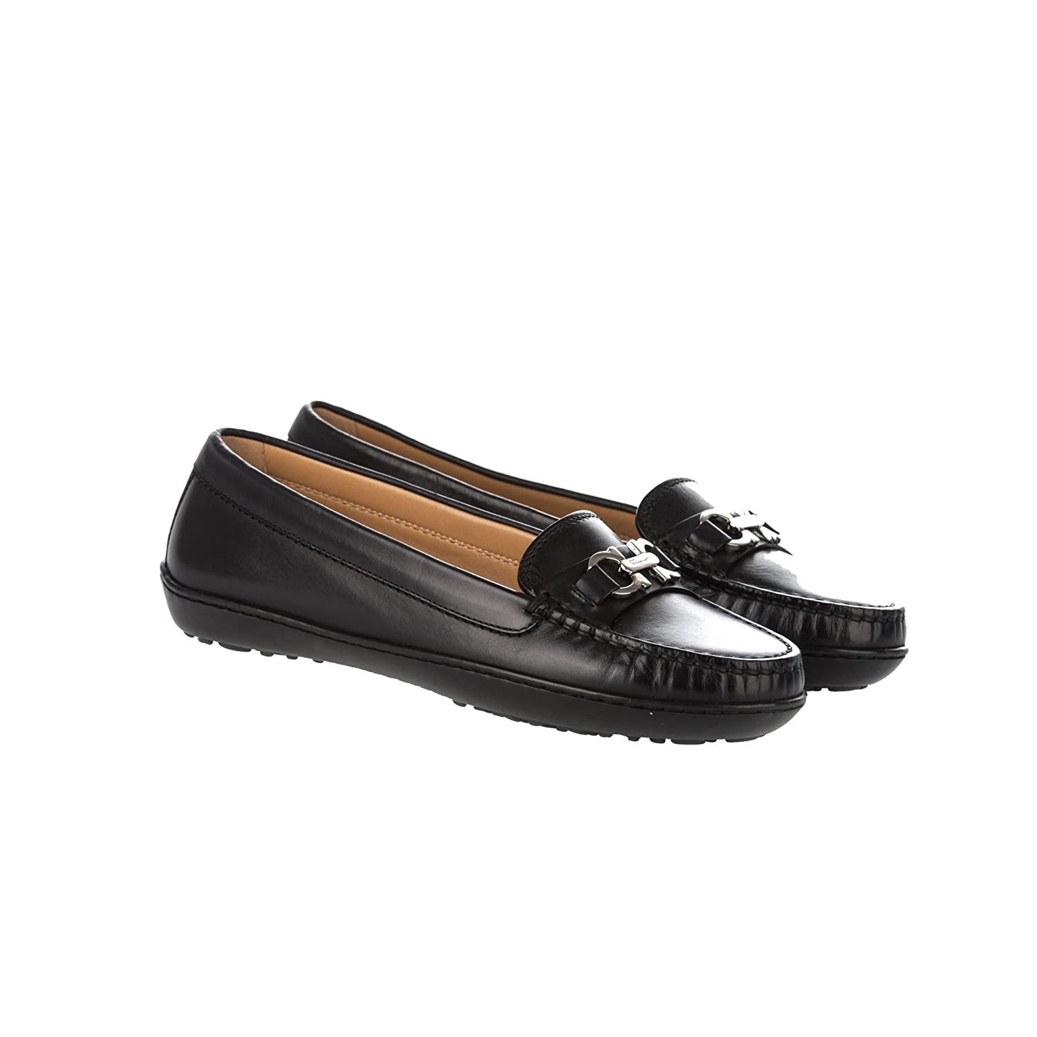 Salvatore Ferragamo - Mocasines para mujer negro negro IT - Marke Größe, color negro, talla 35 IT - Marke Größe 35: Amazon.es: Zapatos y complementos