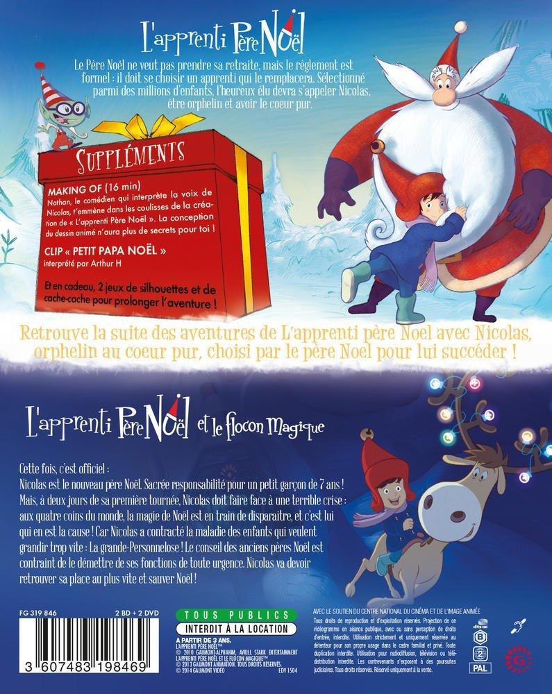 Amazon Com Santa S Apprentice The Magic Snowflake 2 Disc Box