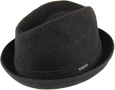 Sombrero Trilby Player de lana de Kangol - Negro - LARGE: Amazon ...