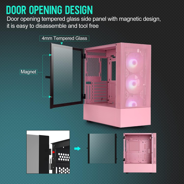 Pink Pc Case