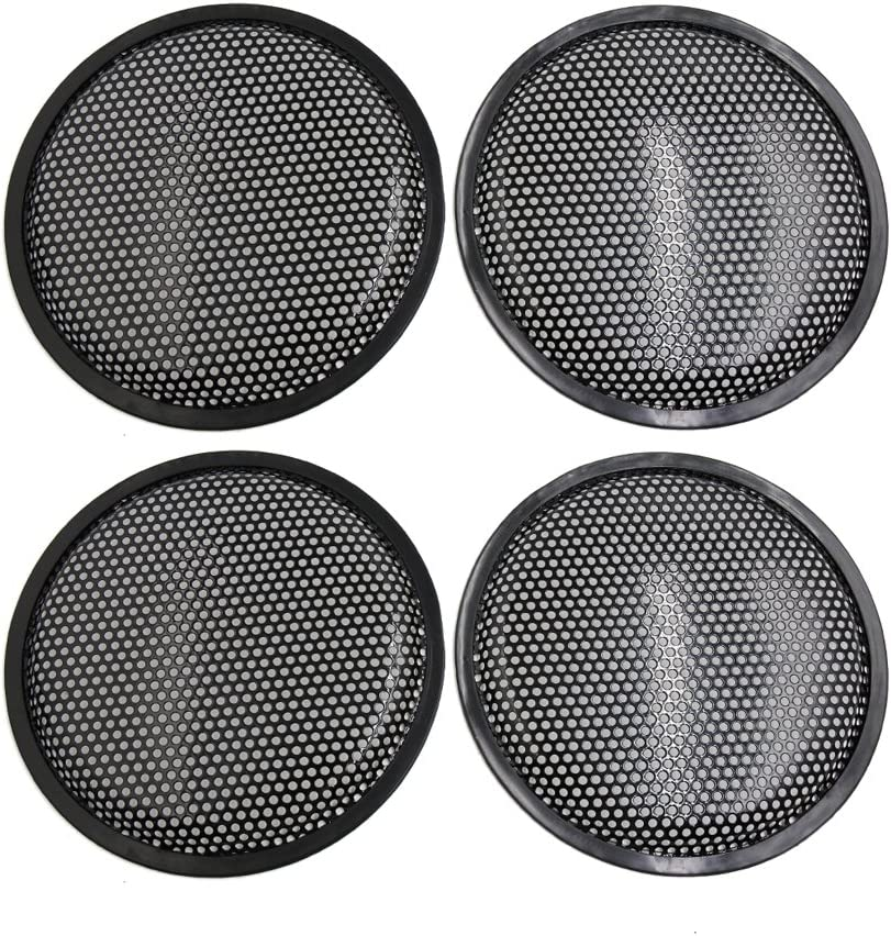 uxcell 2pcs Universal Car Plastic Grill Cover Fits 6 inch Speaker Subwoofer