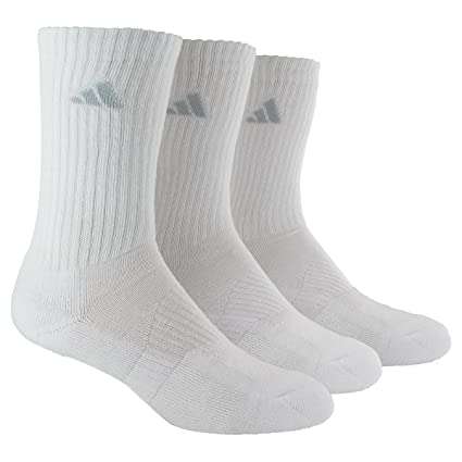 18616630756 Amazon.com  adidas Women s Cushioned Retro Crew Socks (3-Pack ...