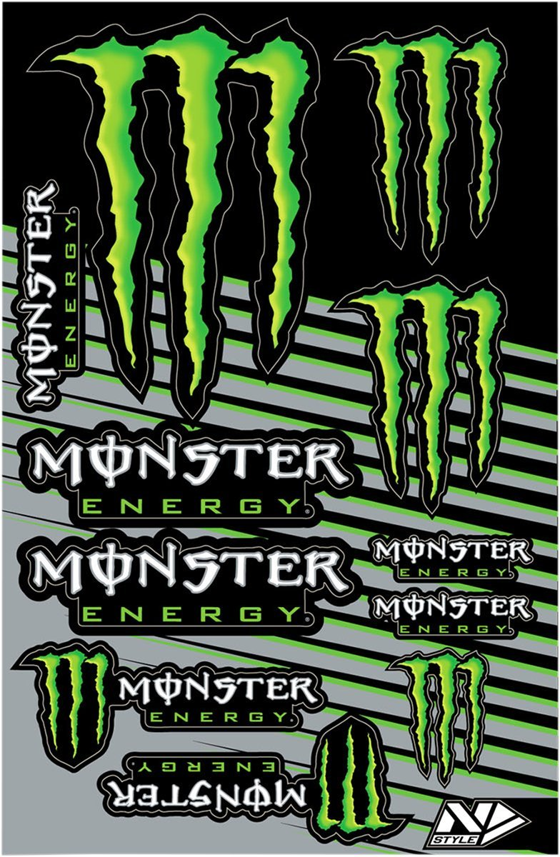 N-Style Universal Decal Kit - Monster V.1