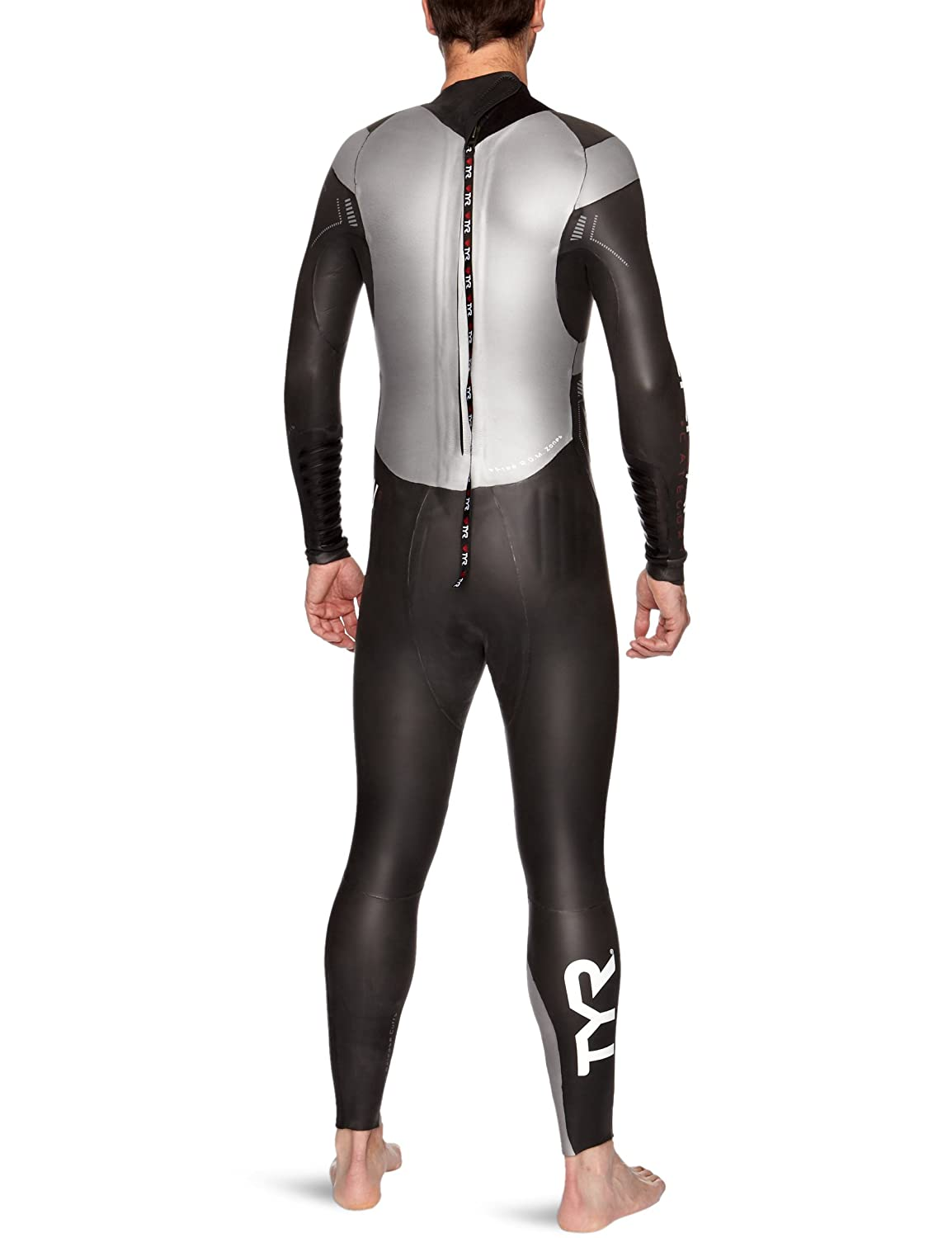 38a3b85bb6d40 Amazon.com   TYR Sport Men s Category 3 Hurricane Wetsuit (Large)   Triathlon  Wetsuit   Sports   Outdoors