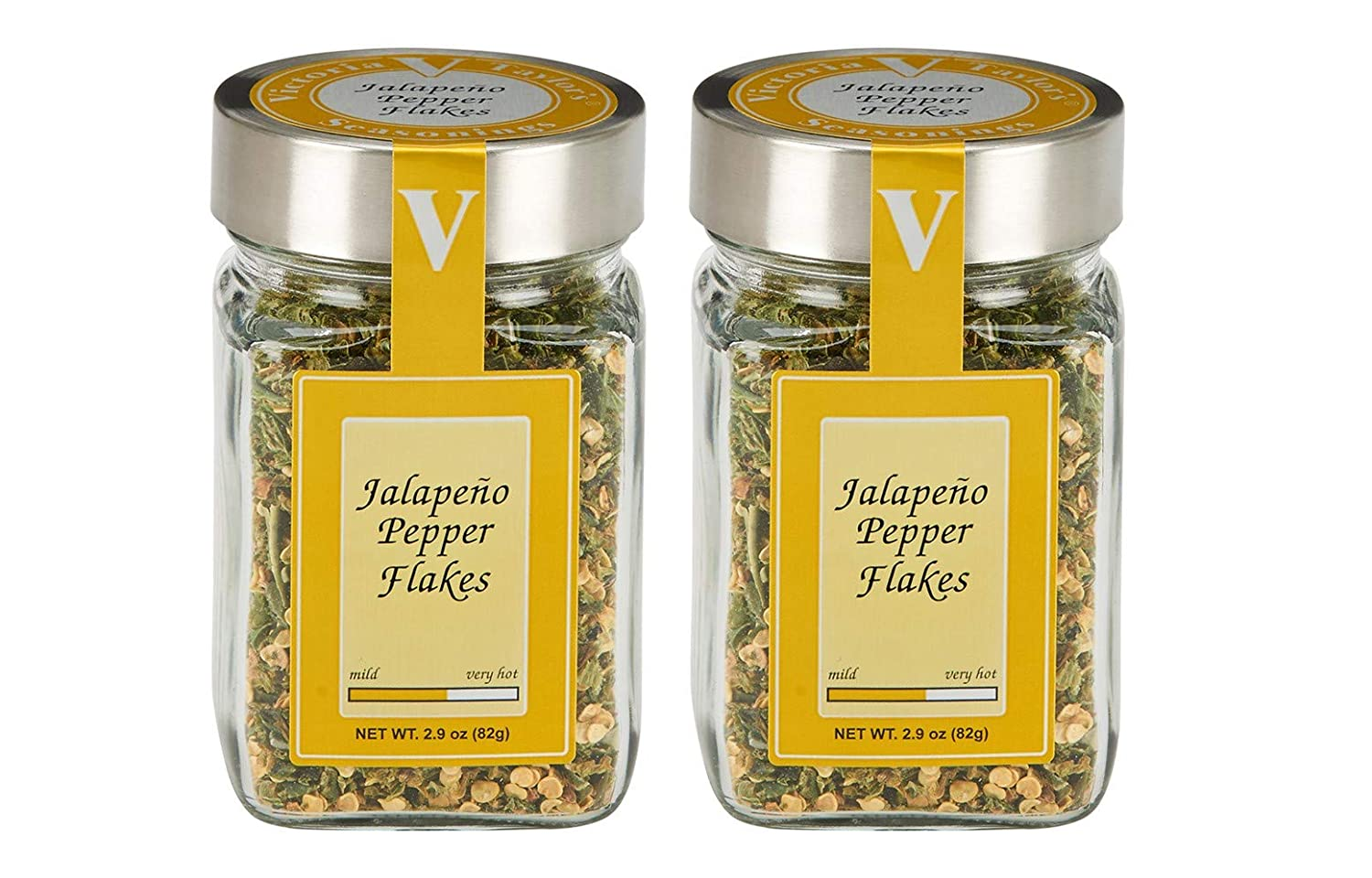 Jalapeno Pepper Flakes 2 Pack – Adds heat to chili, pasta, or any recipe.