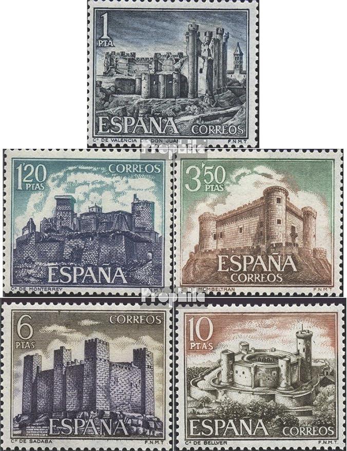 Prophila Collection España Michel.-No..: 1866-1870 (Completa.edición.) 1970 Castillos (Sellos para los coleccionistas): Amazon.es: Juguetes y juegos