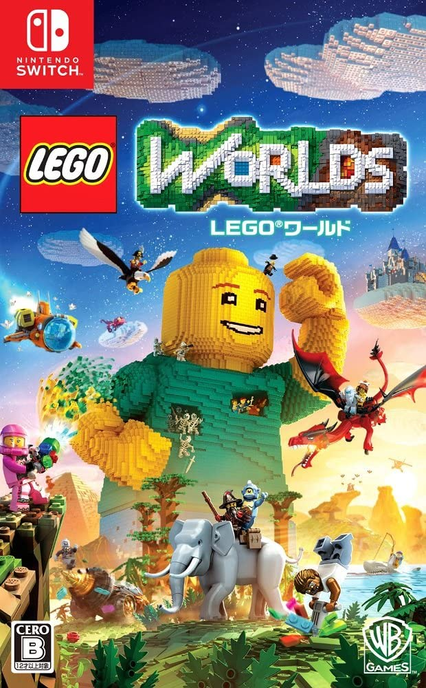 Warner LEGO Worlds NINTENDO SWITCH JAPANESE IMPORT REGION FREE ...