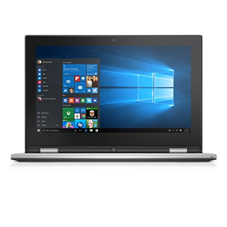 Dell Inspiron i3158-3275SLV 11.6 Inch 2-in-1 Touchscreen Laptop (6th Generation Intel Core i3, 4 GB RAM, 128 GB SSD)