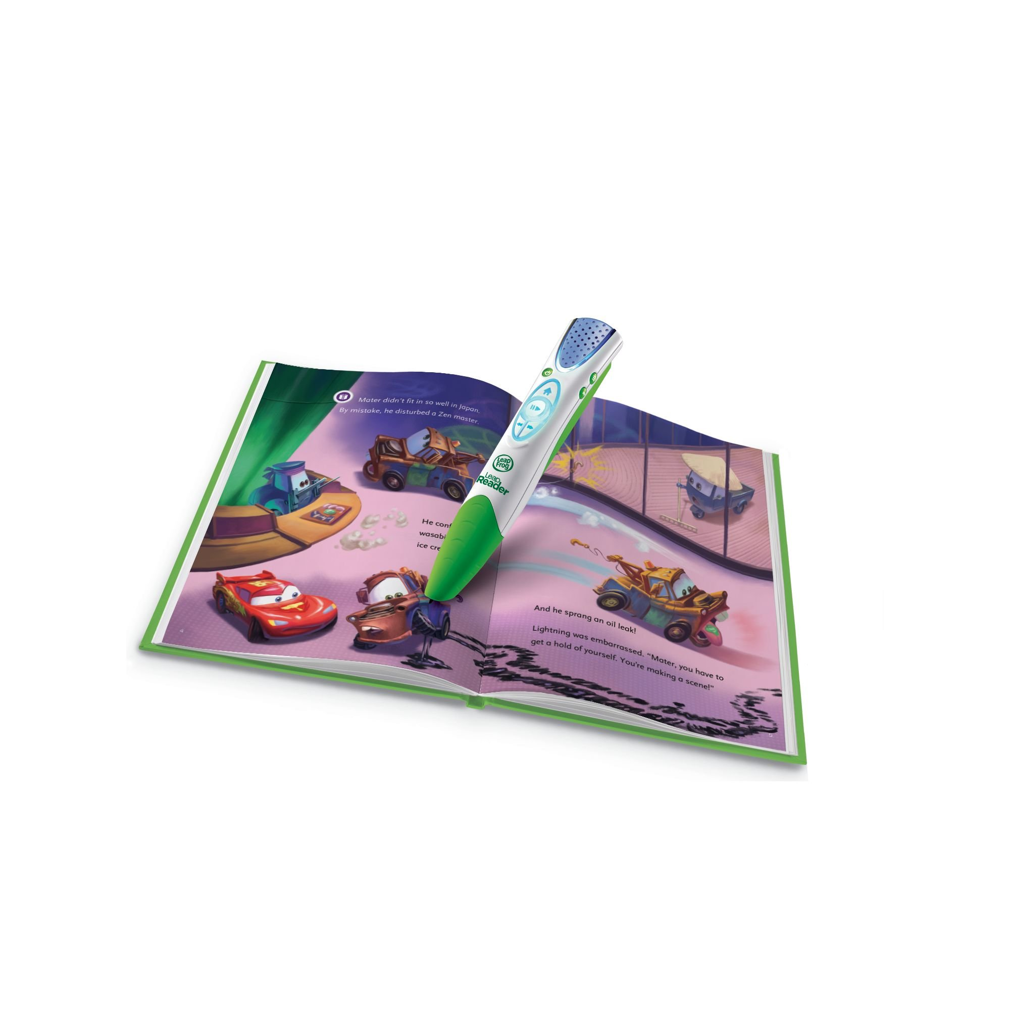 LeapFrog LeapReader Book: Disney/Pixar Cars 2: Project Undercover (works with Tag) by LeapFrog (Image #2)
