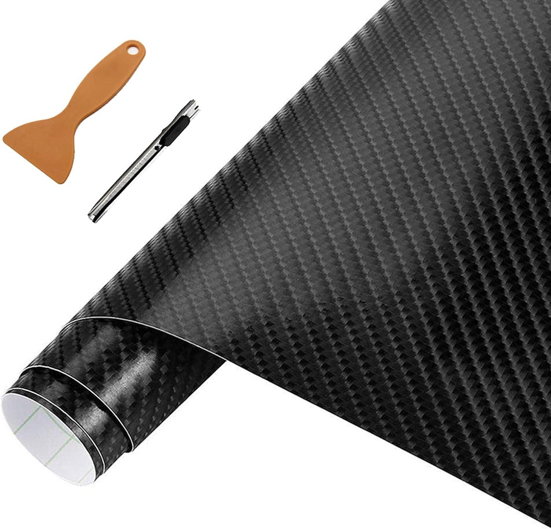 Carbon Folie 3d Struktur Fühlbare Struktur 30 X 152 Cm Selbstklebend Carbonfolie Auto Klebe Folie Folieren Auto