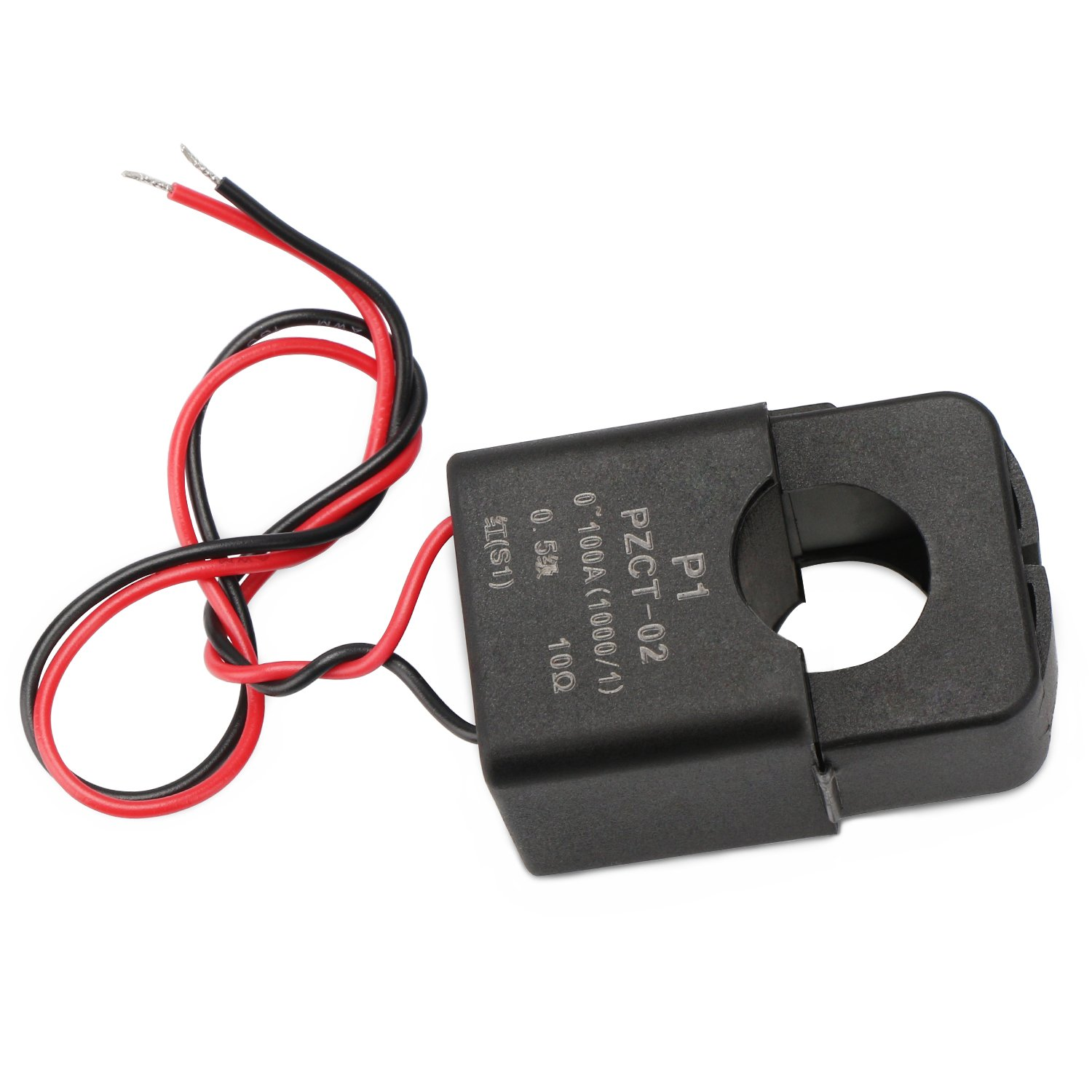 Current Transformer Drok 100a 100ma Ac Power Load Is Large The Use Of Transformers Mini Clip On Sensor Split Core Amp Sensing Relay