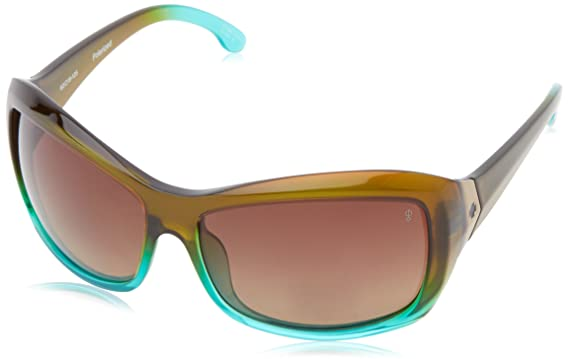 d4a23d18e0 Amazon.com  Spy Optic Women s Farrah Mint Chip Fade Polarized Wrap ...