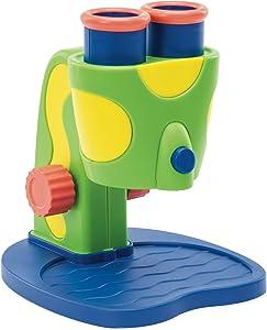 Educational Insights GeoSafari Jr. My First Microscope, Extra-Large Dual Eyepieces, Preschool STEM Toy