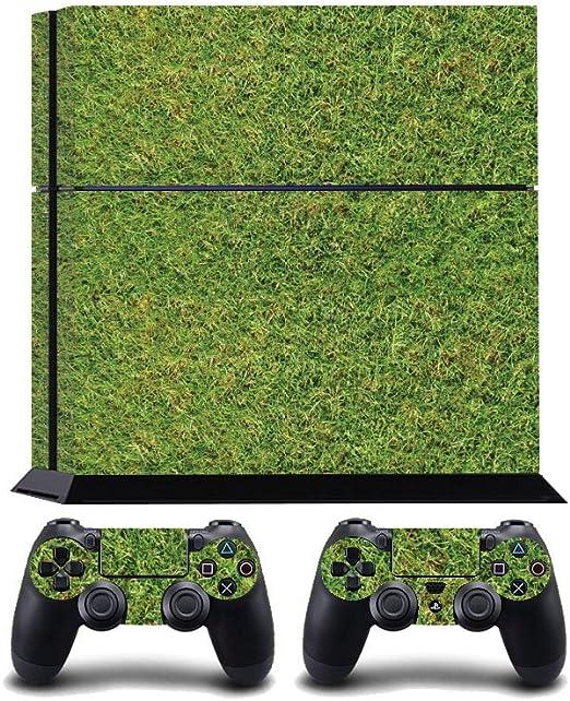 Grass Turf Print PS4 PlayStation 4 Vinyl Wrap / Skin / Cover / Pegatina para Sony PlayStation 4 Console y PS4 Controllers: Amazon.es: Hogar