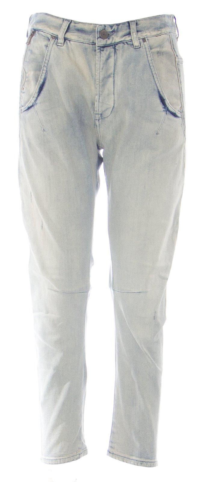 DIESEL Women's NYF Straight Leg Cropped Jeans #DS0321 Light Wash Sz 28 NEW
