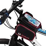 Sac de Guidon/Étui/Housse Imperméable Portable Sacoche vélo Cyclisme Bicycle Smartphone Écran Tactile 6.2 Pouce pour VTT Vélo de Route Vélo de Ville Vélo Pliant etc