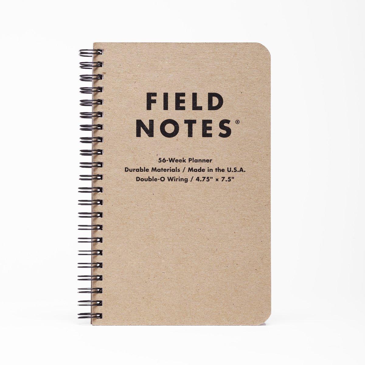 Amazon Com Field Notes 56 Week Planner 4 75 X 7 5 Office
