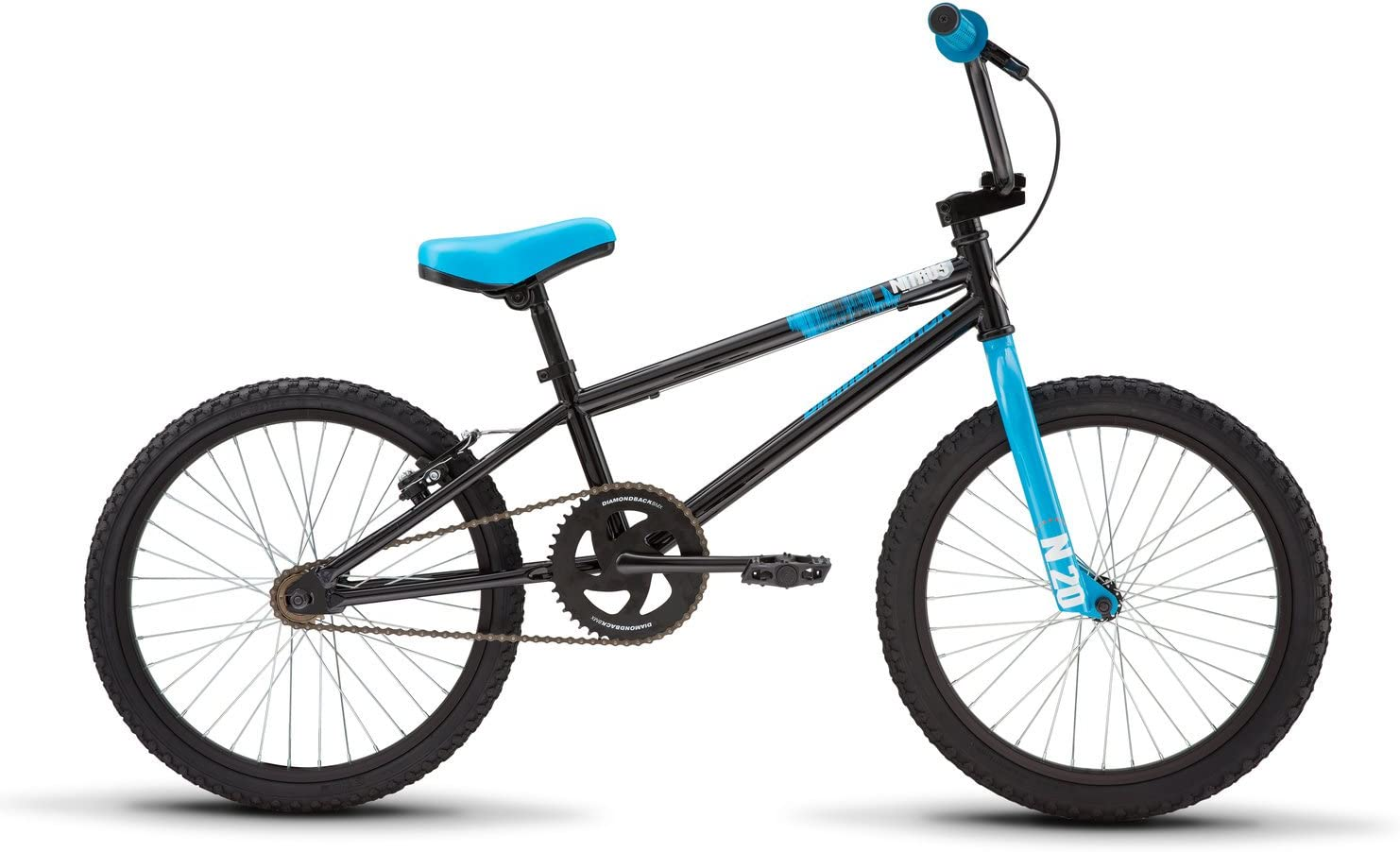 Diamondback Bicycles Youth Nitrus BMX Bike, Gloss Black