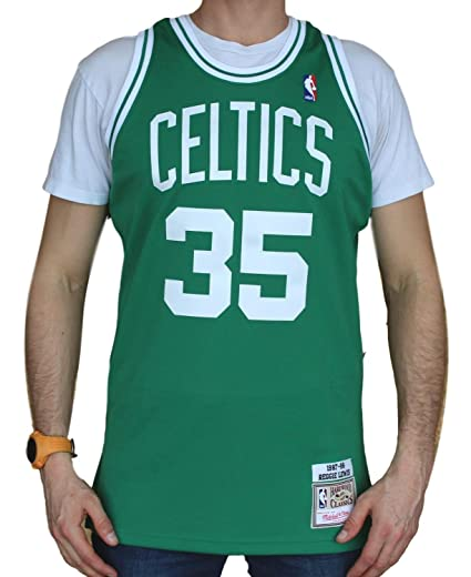 47ff97badb6 ... sale reggie lewis boston celtics mitchell ness authentic 1987 88 green  nba jersey 55abd f37db
