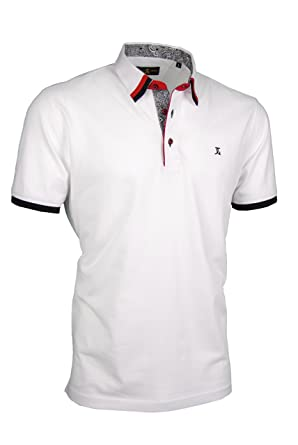 Giorgio Capone, Camisa de Polo Premium, 100% Algodon, Tallas s ...