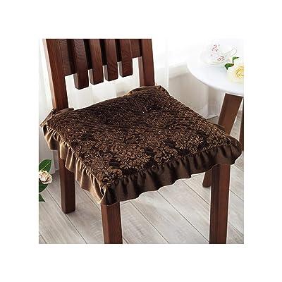 Baota Comfortable Seat Cushion Short Plush Decorative Sofa Chair Pillow for Office Car Home Kitchen Chair Cushion, Muerfangxingshenzong, About 45X45Cm : Garden & Outdoor