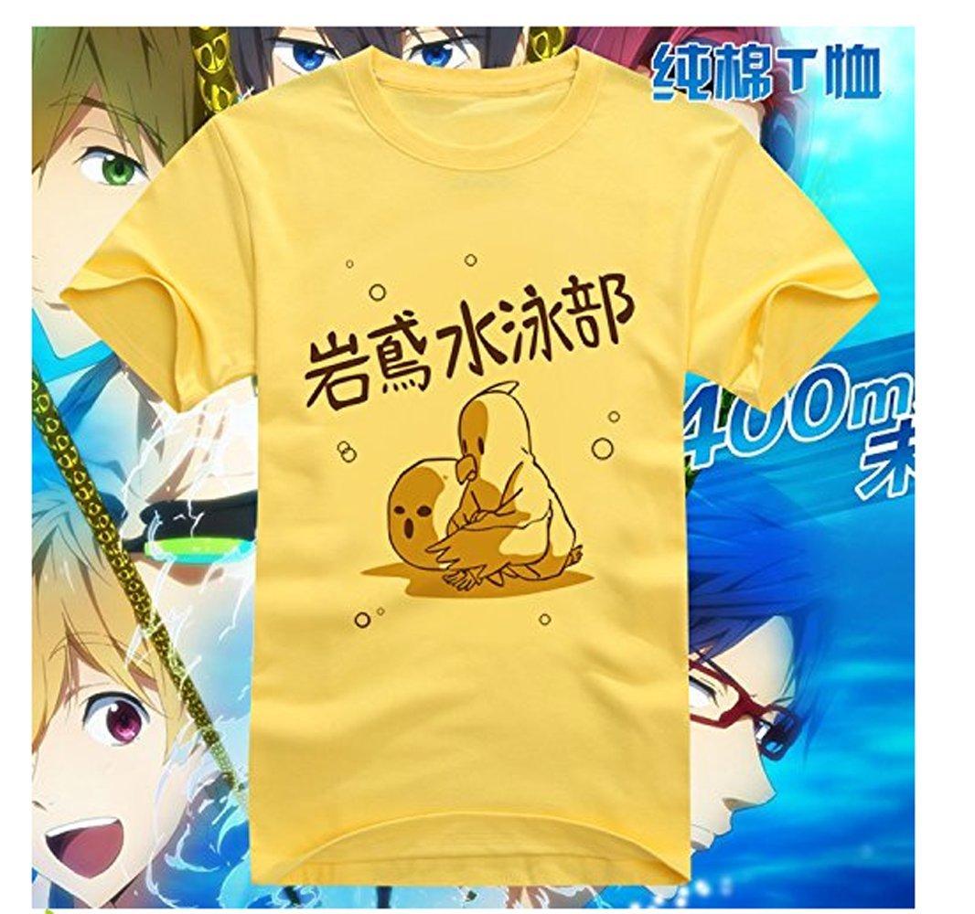 GUO Jing Free! Iwatobi Swim Club Cosplay T-shirt Asian Size