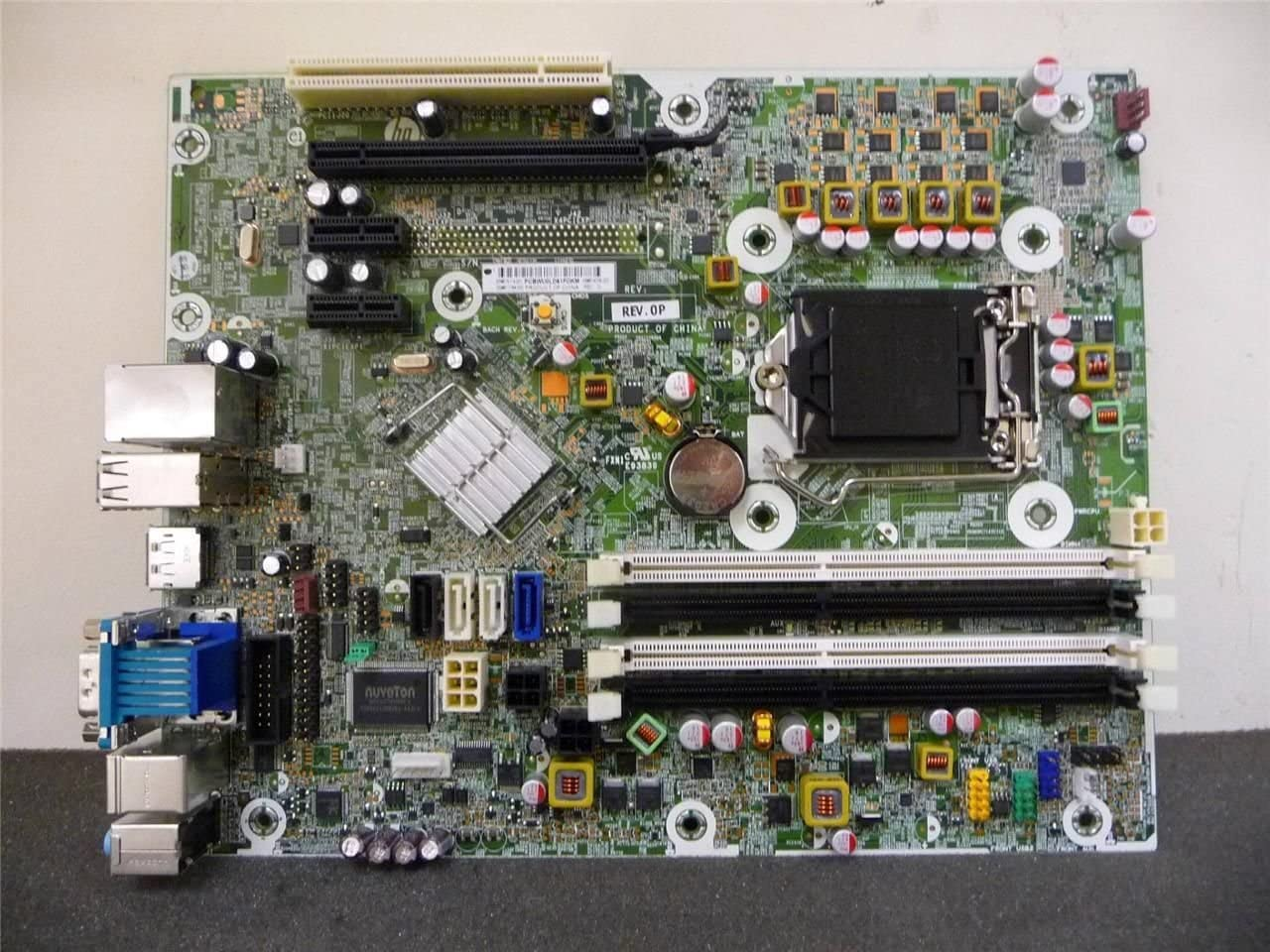 HP 615114-001 System board (motherboard) assembly - Includes Trusted Platform Module (TPM)