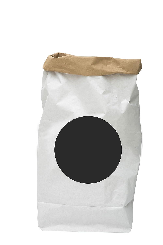 TELLKIDDO Bolsa de Almacenamiento Puntos, Papel, Negro/Blanco, 55 x 22 x 80 cm 55x 22x 80cm 102